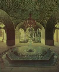 نقاشی کمال الملک از حوض کریمخانی